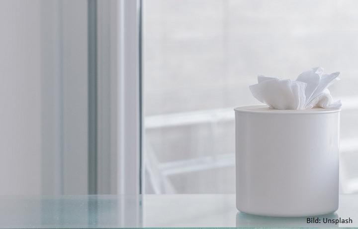Sauber, soft und so recycelt – Nachhaltige Kosmetiktücher von memo AG