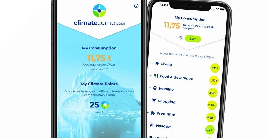 Die App, die dir in Sachen CO2-Verbrauch zur Seite steht