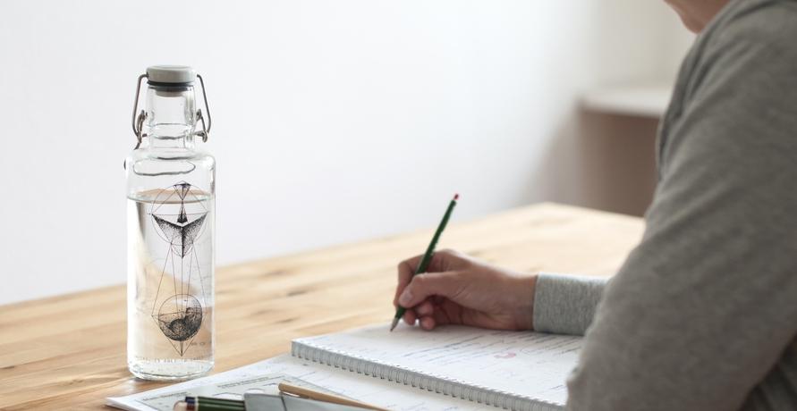 Im Kampf gegen Plastik - Die Trinkflaschen von soulbottles