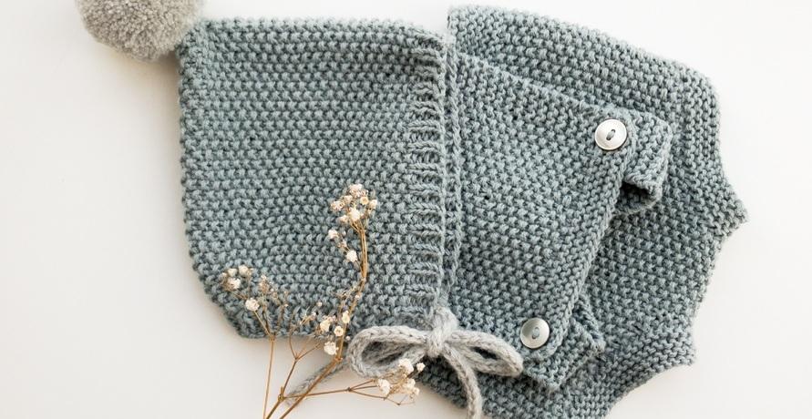 Saroulhosen, Stirnbänder & Co. – faire Strickmode für Groß und Klein