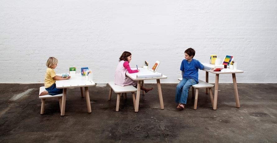 Ein lebenslanger Begleiter: Der mitwachsende Tisch von pure position