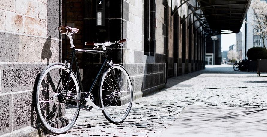 Mit deinem Urban Bike von mika amaro stylisch durch die Stadt