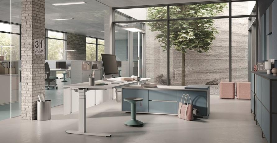 Sich auf´s Büro freuen - Dank der umweltfreundlichen Büromöbel von PALMBERG