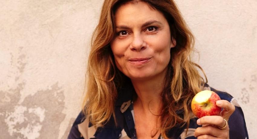 Sarah Wiener im Podcast GRÜNES MIKRO