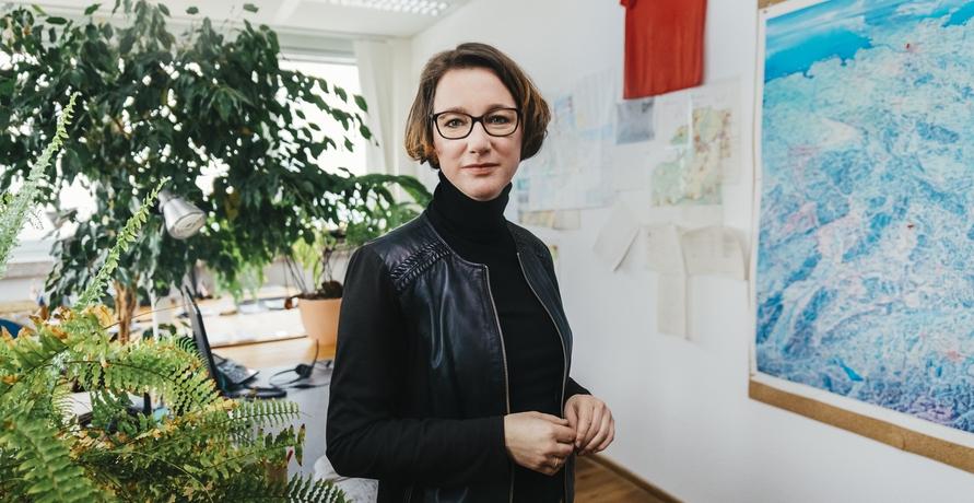 Yvonne Zwick B.A.U.M e.V. im Podcast GRÜNES MIKRO