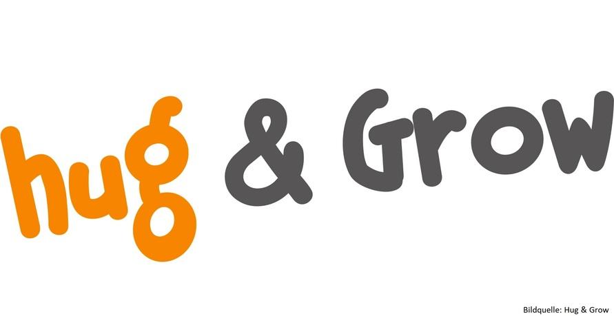 Hug & Grow Logo