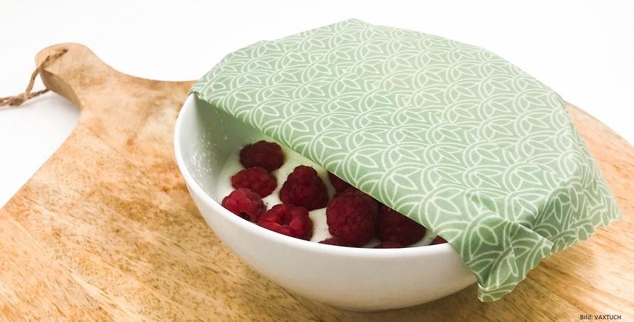 Lebensmittel sicher verpackt und gut verstaut im VAXTUCH