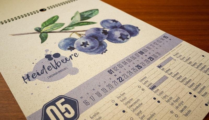 Deine nachhaltige Einkaufshilfe: Saisonkalender aus Graspapier