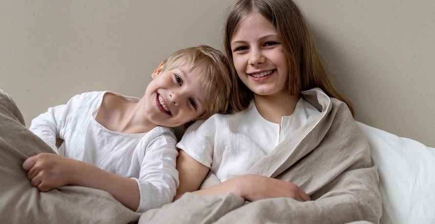 Gut gebettet in Leinen: Nachhaltige Bettwäsche für Kinder