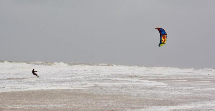 Kiteboards - Surfen mit Wind