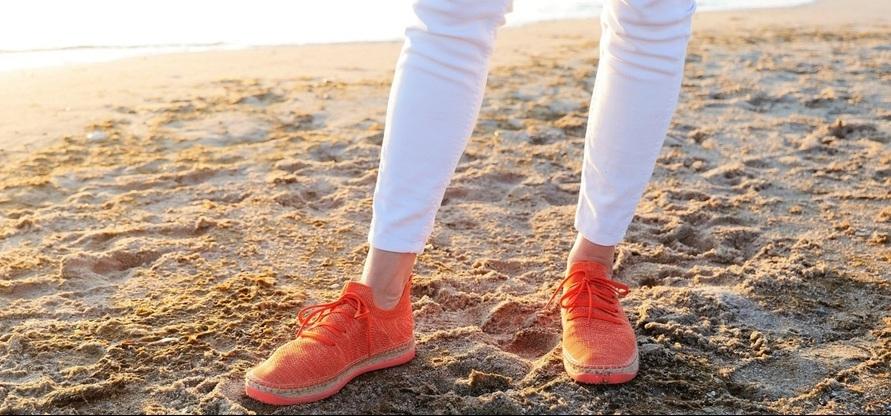 Schuhe, die nie zu Müll werden: Espadrilles von Seads