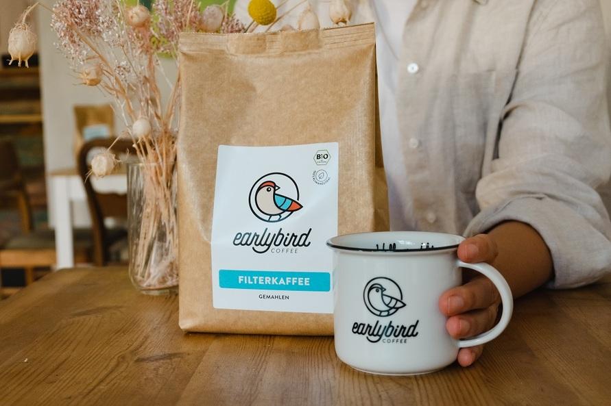 Kaffeetasse mit Filterkaffee