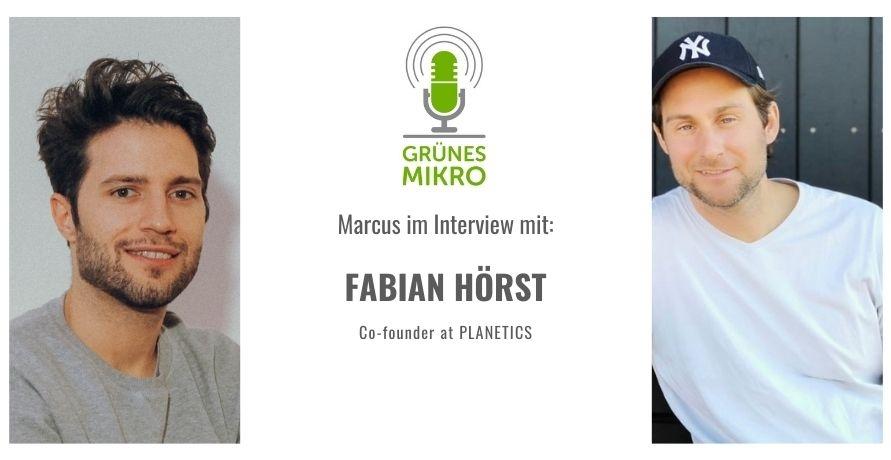 Öko-Sportler Fabian Hörst von PLANETICS