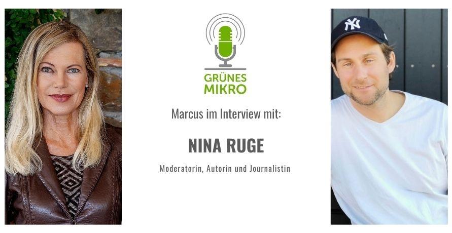 Wie engagiert sich die deutsche Fernseh-Moderatorin Nina Ruge?