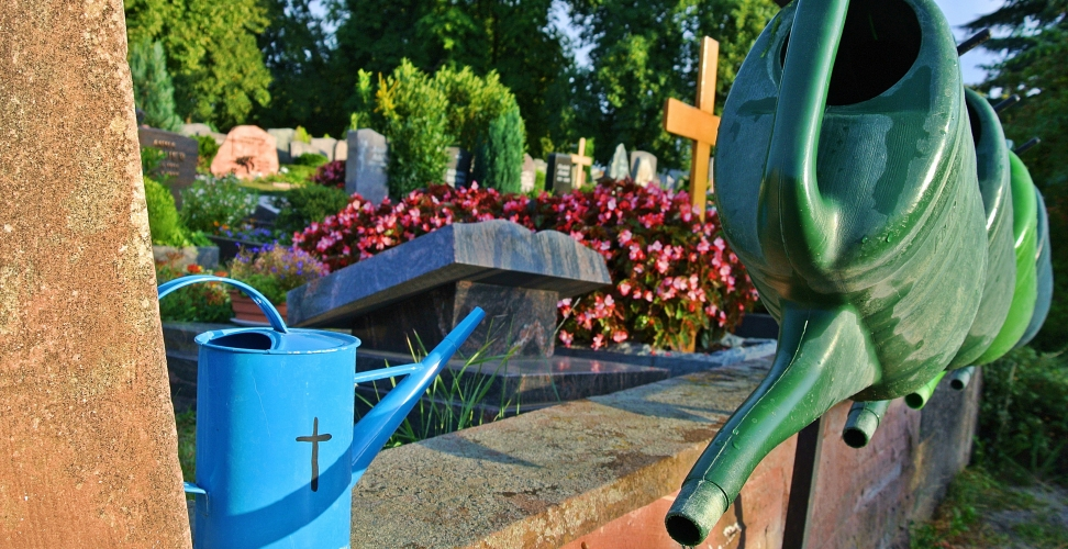DBU-Projekt deckt Umweltprobleme auf Friedhöfen auf
