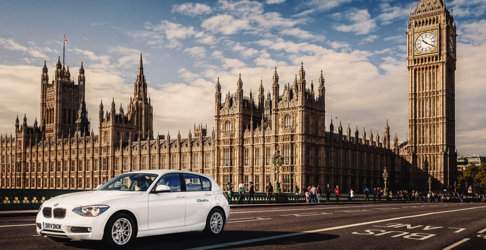 DriveNow startet in London