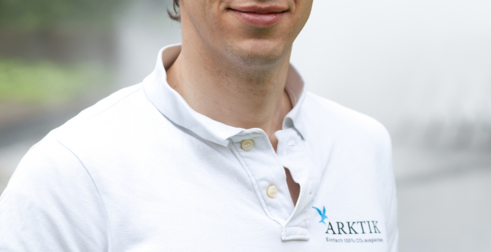 Im Interview: Dr. Florian Skiba von ARKTIK, dem unabhängigen Klimaschutz-Start-Up