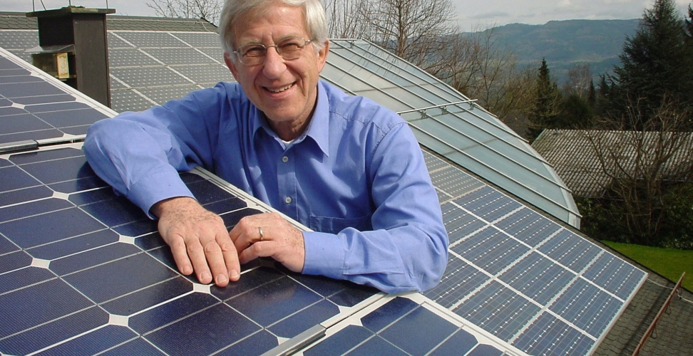 Dr. Franz Alt - Verfechter der Solarenergie