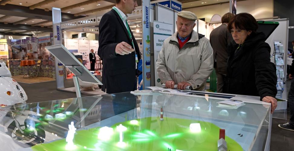 1. Hamburger Energietage 2014 Aussteller und Veranstalter ziehen positives Fazit