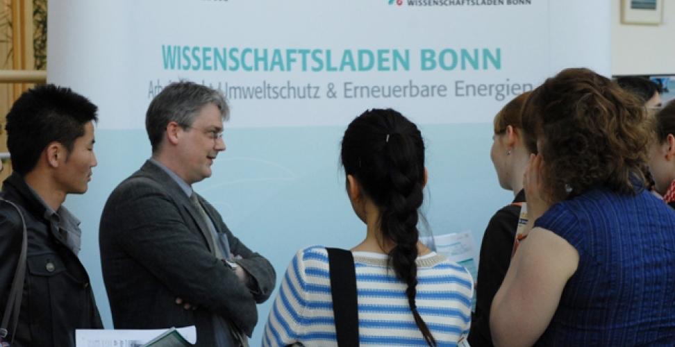 Im Interview: Krischan Ostenrath vom Wissenschaftsladen Bonn e.V.