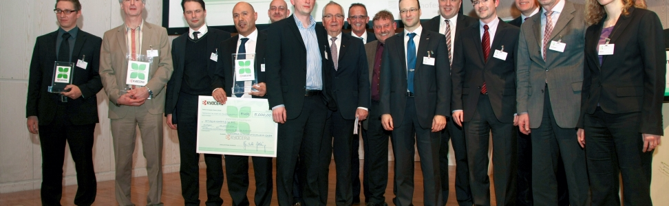 KYOCERA zeichnet nachhaltige Projekte erneut mit 100.000 Euro aus