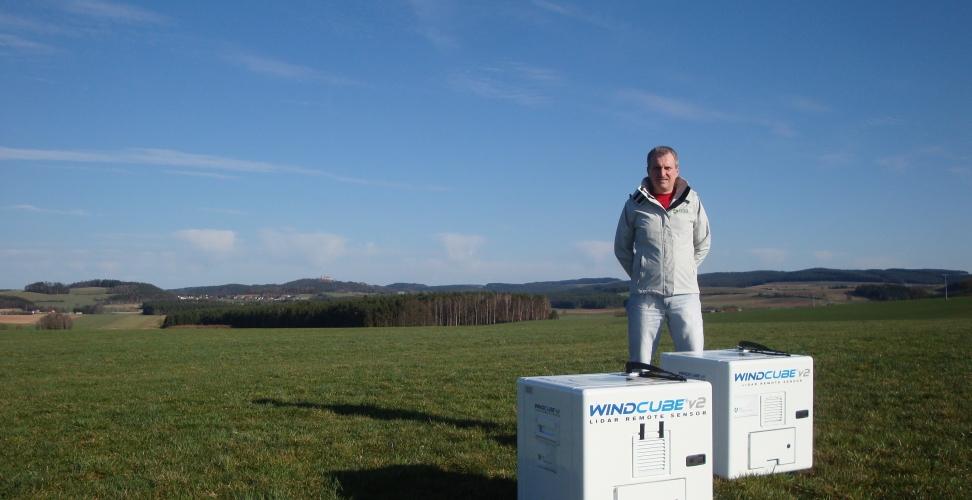 Im Experten-Interview:  Klaus Bergmann, CEO von  BBB Umwelttechnik zum Thema Lasergestützte Windmessungen (LiDAR)