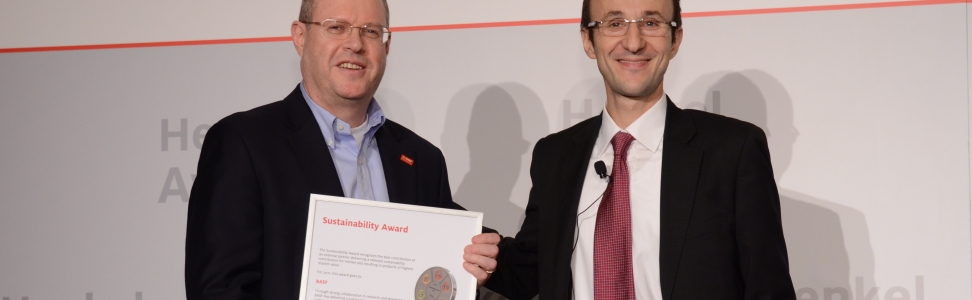 Erster - Henkel Sustainability Award - verliehen