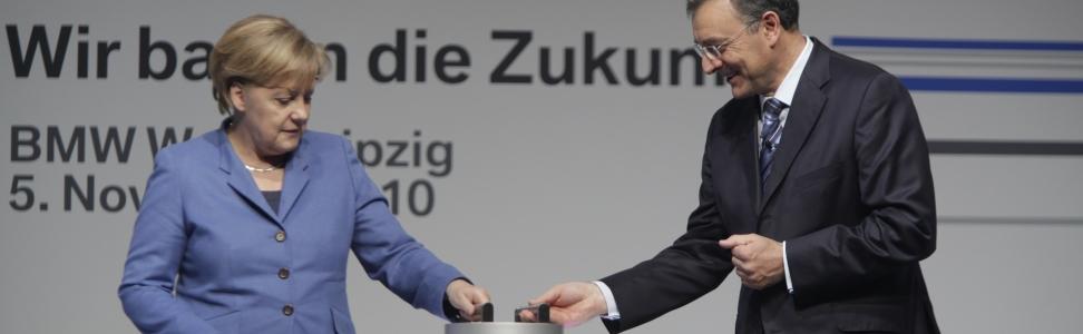 BMW Group baut in Leipzig Mobilität der Zukunft.