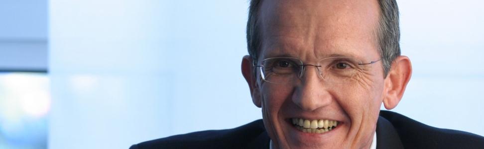 Der Geschäftsführer der KYOCERA MITA Deutschland GmbH, Herr Schlierkamp im Interview