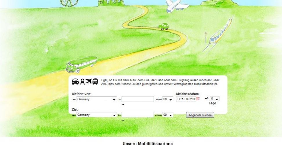 Mitfahrgelegenheit Alternative - Die erste grüne Suchmaschine für Mitfahrgelegenheiten