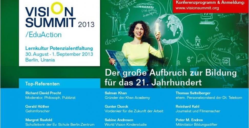 VISION SUMMIT: Bildung für das 21. Jahrhundert
